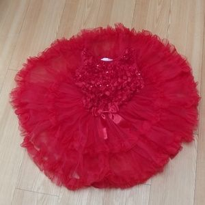 ♥️Princess Fluffy Party Dress